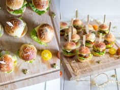 Das perfekte Partyessen: Pizzablume Party Finger Foods, Snacks Für Party, Easter Recipes, Snack Recipes, Easter Food, Sushi, Sandwiches, Beverages, Food And Drink