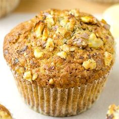 Banana Pecan Muffins - Featured Image