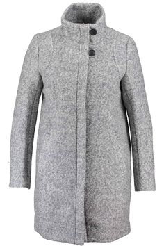 Winter coat | Grey coat | Long coat | Office coat | Fashion | Plussizefashion | Winterjas | Lange winterjas | Kantoor jas
