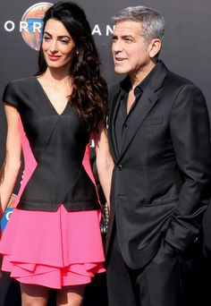 """6 Celebrity """"It"""" Couples Show How Matching Can Be a Very Chic Thing - Look for Structured Shapes  - from InStyle.com"""