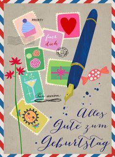 Birthday card @ Elisandra 2013