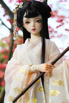 Anime Girl Dress, Painting Of Girl, Hanfu, Ball Jointed Dolls, Barbie Dolls, Female, Dresses, Chinese, Models