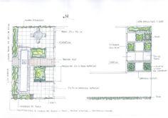 Voorbeeld van een tuinontwerp van een kleine voor en achtertuin in Leusden