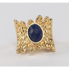 // Vergara Collection - Lapislazuli Queen Ring - DANIELA SALCEDO Ring Designs, Gemstone Rings, Gemstones, Jewelry, Jewlery, Gems, Jewerly, Schmuck, Jewels
