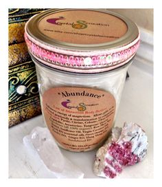 Abundance Law of Attraction Body Butter Crystal Infused Programmed to Enhances energy of magnetism, graciously. ORGANIC Himalayan Salt Scrub...