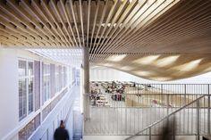 Bruyère High School Cafeteria Refurbishment / SAM Architecture