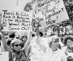 women's liberation demonstration in nyc, 1968.