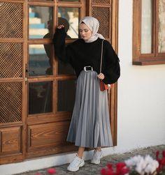 Modest Fashion Hijab, Modern Hijab Fashion, Street Hijab Fashion, Casual Hijab Outfit, Hijab Fashion Inspiration, Hijab Chic, Muslim Fashion, Modest Outfits, Casual Outfits