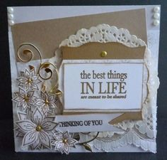 Card made using all Dreamees Delights products accept for the sentiments stamps and the flourish