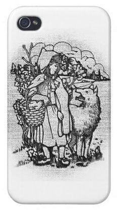 Little Red Riding Hood - iPhone case #iPhone #case #mobile #smartphone