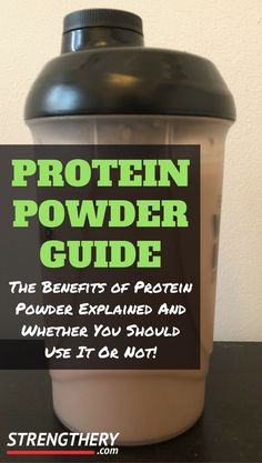 shake to gain muscle workout shake to gain muscle benefits of Are you wondering if you should use protein powder, or how to use protein powder? Then read this protein powder guide before you buy and discover whether protein powder benefits you or not! Anti Aging Supplements, Protein Supplements, Weight Loss Supplements, Protein Shakes For Women, Protein Shake Recipes, Protein Smoothies, Best Protein Supplement, Best Protein Powder, Avocado Smoothie