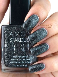 The Happy Sloths: Avon Stardust Nail Enamel for Fall 2014: Review and Swatches