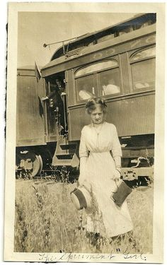 The Spearmint Girl Antique Photo Young Lady With by christmasangel