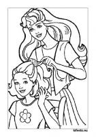 barbie dresses coloring pages. You can ask all girls in the world, who doesn't know Barbie? The answer will be only one, no one. No girl doesn't know Barbie. Barbie is a representat. Puppy Coloring Pages, Cat Coloring Page, Online Coloring Pages, Coloring Pages For Girls, Cartoon Coloring Pages, Free Printable Coloring Pages, Coloring Book Pages, Colouring, Hair Coloring