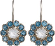 We Adore: The Floral Drop Earrings from Cathy Waterman at Barneys New York