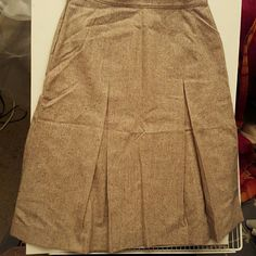 PENDLETON + REIMANS (2) skirts - Classy and quality, MINT condition. Same size at waist grey skirt reads 3, and the p. Reads a lot of weird stuff so I'm going with 3 for the other since I can't understand what it says and it measures the same. Pendleton Skirts