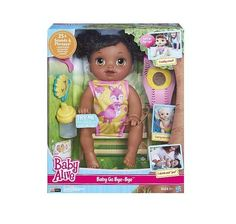 Baby Alive Go Bye Bye African American Doll Pretend Play Dolls New Sealed #Hasbro
