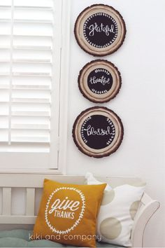 Come and make this fun DIY Wood Slice Chalkboard Sign with me using Flora Craft's Make It:Fun products! Super easy and will take you through the whole year.
