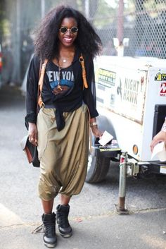 Street Style: AfroPunk Festival: Hammer Time: Page 10 : Essence.com