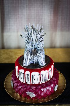 Game of Thrones cake! Happy Name Day!