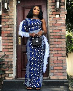 Check out the Latest Ankara Styles Modern Styles – trendy Ankara Styles in gown. Upgrade your cloth cabinet with one of these bright. African Fashion Designers, African Print Fashion, Africa Fashion, African Fashion Dresses, Ankara Fashion, African Prints, Ankara Long Gown Styles, Ankara Styles For Women, Beautiful Ankara Styles