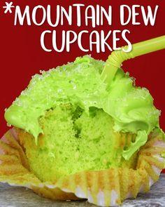 Montain #Dew #Coupcakes