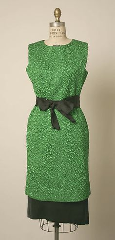 Cocktail dress, early 1960s