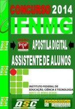 Apostila Concurso IFNMG Assistente De Alunos 2014  Apostilas So Concursos Apostila Digital