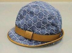 Authentic Gucci Blue Hat 53% off retail