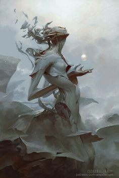 Peter Mohrbacher is an artist working on a fantasy project called Angelarium. The art and themes are beautiful but scary, leaving you with a feeling of wonder. Art And Illustration, Fantasy Artwork, Fantasy Paintings, Surreal Artwork, Art Noir, Arte Obscura, Inspiration Art, Arte Horror, Wow Art