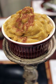 Vegan Pumpkin Maple Pudding ~ The Skinny Weigh (only 53 calories)