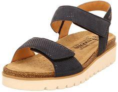 a7aa2325fa4434 Mephisto P5127501 Sandales Femmes Bleu 38: Amazon.fr: Chaussures et Sacs