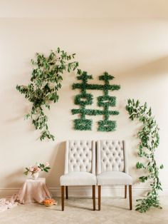 Modern Chinese Wedding Banquet Decorations, Greenery for Double Happiness Sign at Tea Ceremony Chinese Wedding Tea Ceremony, Chinese Wedding Decor, Wedding Ceremony, Reception, Wedding Wall, Budget Wedding, Wedding Planner, Greenery Decor, Wedding Greenery