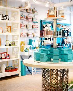 Retail Store Design Hollywood Regency Photo - An array of Jonathan Adler merchandise in his Manhattan showroom