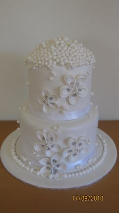 Wedding Cake - by Sugardreams @ CakesDecor.com - cake decorating website