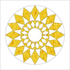 I love this as a mandala. I wonder how hard it it would be to make as a pieced paper artwork... hmmm...
