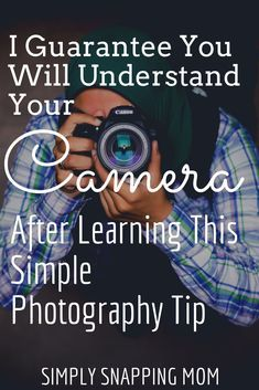 Photography Tips for Beginners to Learn Manual Mode - I could NOT truly grasp manual mode photography until I learned this one simple camera setting and how to use it. Photography doesn't have to be compl. Photography Cheat Sheets, Photography Basics, Photography Tips For Beginners, Photography Lessons, Photography Camera, Photography Tutorials, Photography Business, Creative Photography, Digital Photography