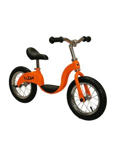 Kazam balance bike, it pretty cool! Kazam provides an alternative way to learn to ride a peddled bicycle based on the concept of balance first, pedal last. It is a training bicycle that assists children ages 3-6 to balance, increase coordination and ultimately ride a traditional bicycle for the first time with confidence.