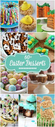 60+ Easter Desserts