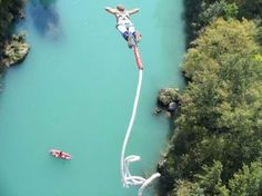Go bungee jumping..