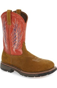 ARIAT Workhog H2O Waterproof Cowboy Boot. #ariat #shoes #boots ...