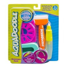 Aquadoodle NEON Brush, Pen and Stencils with bonus Spill-proof Cup. Aquadoodle…