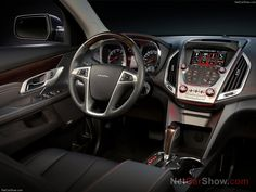 GMC Terrain Denali (2013) [subtle use of red ambient lighting]