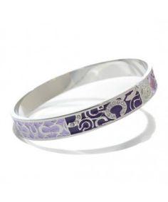 Coach Logo Signature Purple Bracelets CKZ