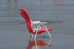 Red Chair at Asbury Park Beach