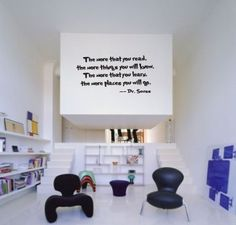 Dr. Suess Vinyl Quote