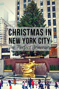 Planning a trip to NYC? Follow this itinerary for a day filled with food, fun, and lots of Christmas festivities.