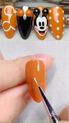 Cute Acrylic Nails, Summer Acrylic Nails, Summer Nails, Acrylic Nail Designs, Gel Nails, Nail Polish, Nail Art Designs Videos, Nail Design Video, Nail Art Videos