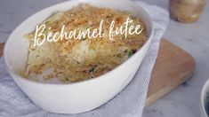 Béchamel futée Quebec, Sauce Béchamel, Bechamel Sauce, New Cooking, Pasta, Mayonnaise, Macaroni And Cheese, Lunch Box, Nutrition