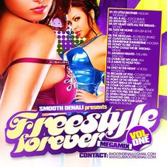 Freestyle Forever Vol.1 Mixtape Collection CD
